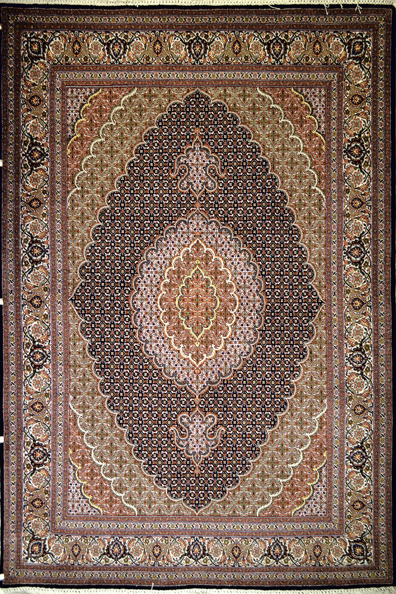 Tabriz Wool Persian Rug  Item 7