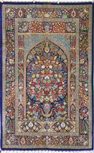 Masterpiece Rajabian Son Silk Persian Rug