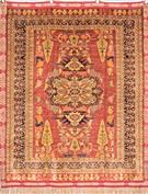 Tribal Pure Silk Vegetable Dye Color Silk Persian Rug