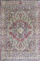 Antique Lavar Kerman 80 years old Wool Persian Rug