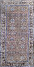Antique Sarough 70 years old unusual  Wool Persian Rug