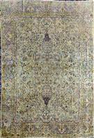 Semi Antique Kerman 60 years old Wool Persian Rug