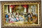 French  Silk Persian Tableau Rug (Pictorial Carpet)