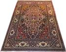 Antique 120 years old Isfahan Pure Wool  Wool Persian Rug