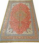 Qom Silk by master Amini Silk Persian Rug