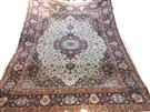 Superfine Mashhad 100 Raj Samirad Design Silk Base Silk Persian Rug