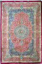 Qum Royalty Silk Silk Persian Rug