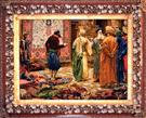 Carpet Market by Gerome Wool Persian Tableau Rug (Pictorial Carpet)