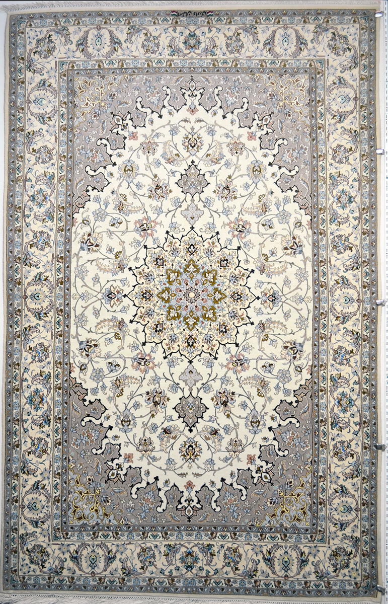 Isfahan Silk Persian Rug Item 775