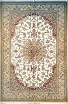 QUM Persian Carpet Silk Persian Rug