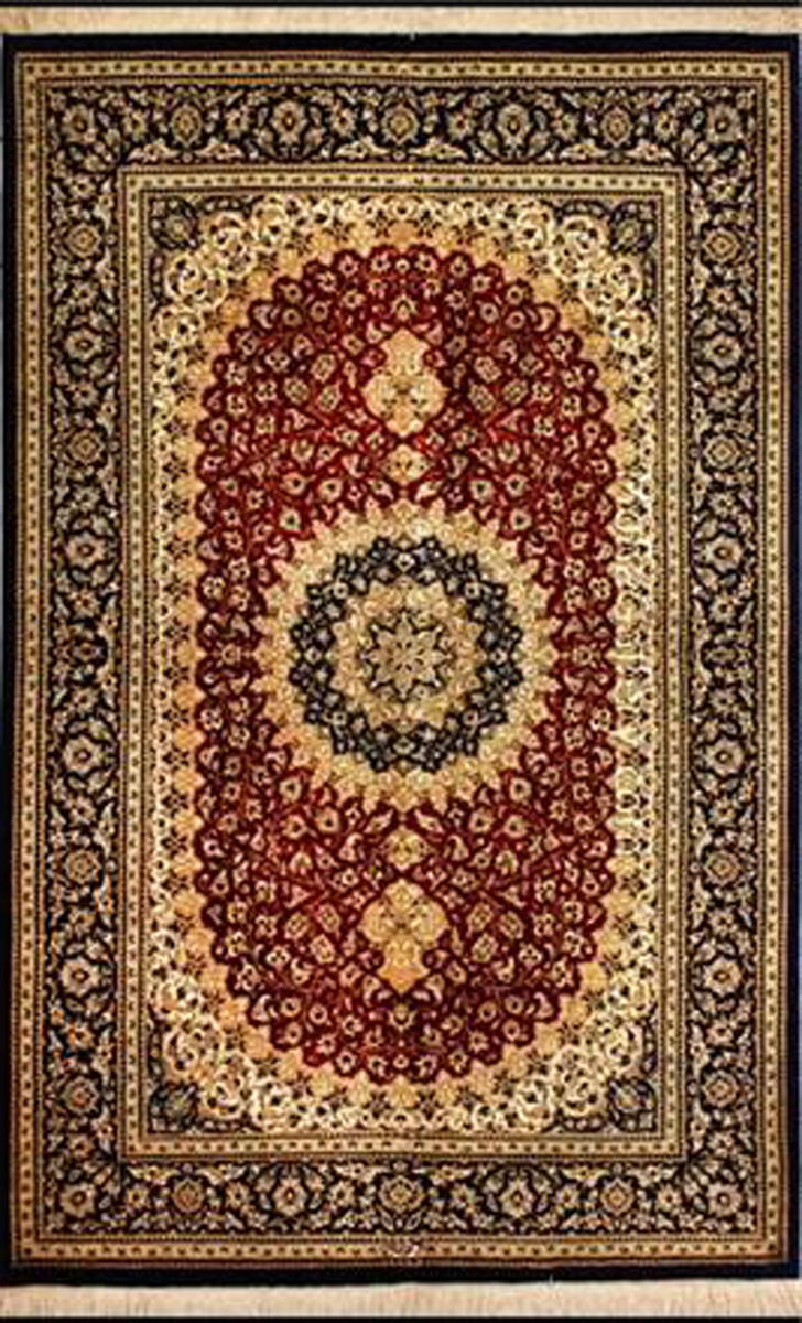 Qum Silk Persian Rug Item Cs Q11