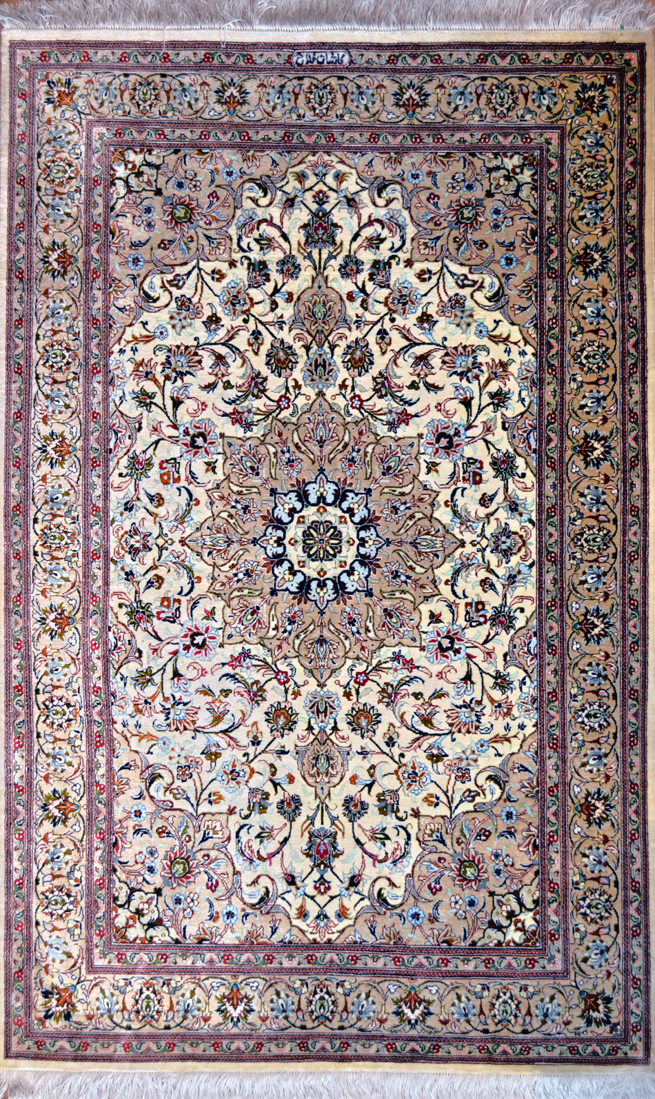 Fallahi Silk Persian Rug Item Hf 6