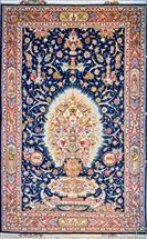 "One of a kind Tabriz Silk ""Available in pair"" Silk Persian Rug"