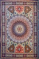 Gonbad Royalty Silk Persian Rug