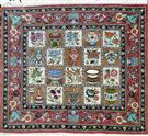 Qum Four Season  Silk Persian Rug