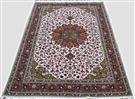Sherkat 50 Raj Bright Pink Wool Persian Rug