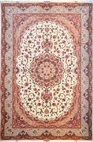 Shiva Warm Brown Silk Persian Rug