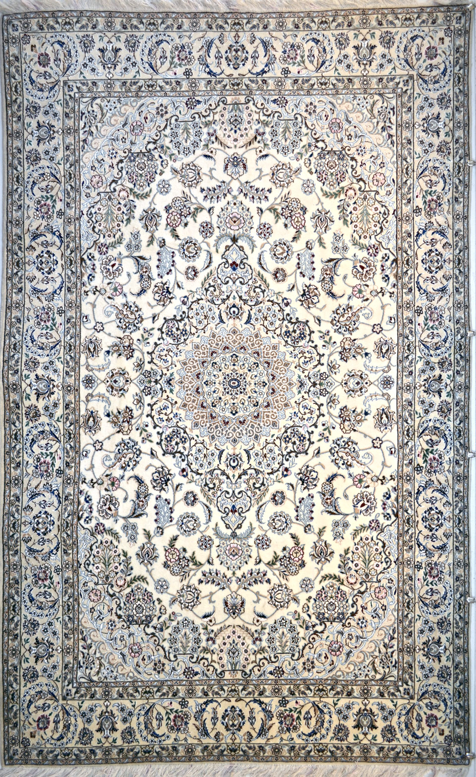 White persian rug rugs ideas for Blue and white carpet