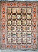 Golestan Four Season  Silk Persian Rug