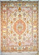 Nami or Gholinami Silk Persian Rug