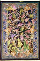 Qum Tree of Life Silk  Silk Persian Rug