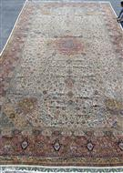 Semi Antique One of a Kind 5x8 Silk Persian Rug