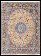 Mehdiei Isfahan Private Collection Silk Persian Rug
