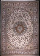 Isfahan 3300 Kheft Private Collection Silk Persian Rug