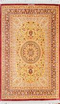 Qum pure Silk Silk Persian Rug