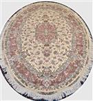 Oval Shape NOVINFAR Wool Persian Rug