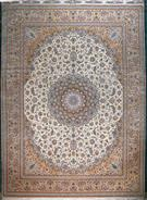 Isfahan Pair Private Collection 3300 Kheft Silk Persian Rug