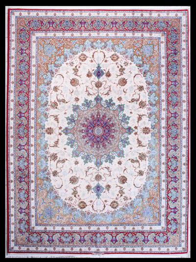 Isfahan Private Collection of Mir Mehdiei Silk Persian Rug