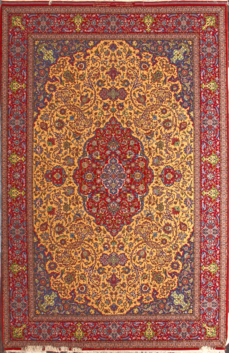 Haghighi Silk Persian Rug Item Ha 3