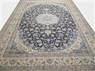 Nain masterpiece 6 Line Silk Persian Rug