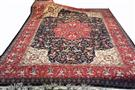Masterpiece Aalabaf 80 Raj Tabriz Superfine Silk Persian Rug