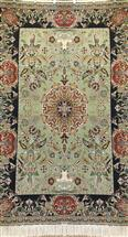 Masterpiece Persian Tabriz Rug 7x10 Alabaf  Silk Persian Rug