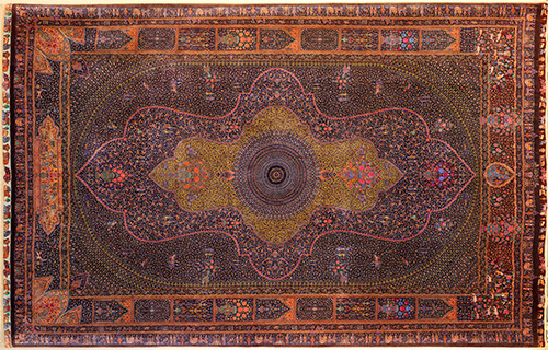 Attractive Largest Persian Rug